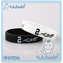 New design best price promotion custom silicone rubber bracelet for teenagers