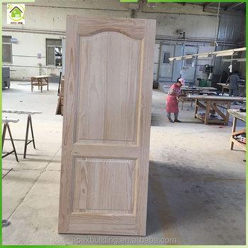 Stainable Factory Direct Interior Doors 2 Panel Wooden Single Door Designs