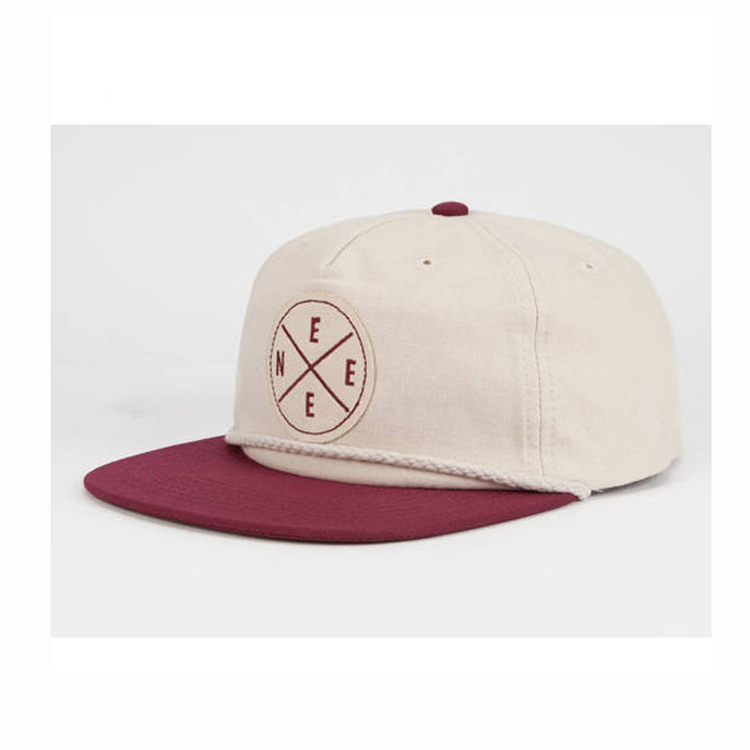 acde40f3 Custom Snapback Cap With String, Snapback Hat With String