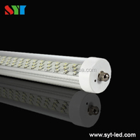 ul cul t12 96' single pin 8ft led tube light 45w for supermarket / factory fa8/r17d