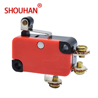 Limit Switch 1185RE8 15/25A 125/250V Red Micro Switch With Screw Pin Sensitive Hight Quality Welding Copper Stroke