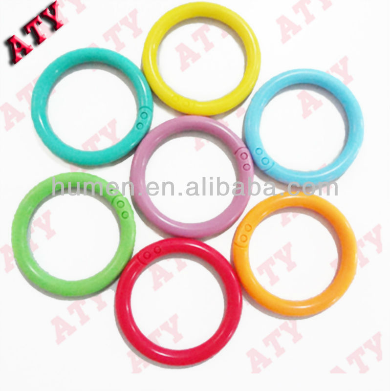 new colorful plastic jump ring