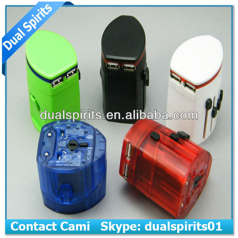 OEM Universal World Wide Travel Charger Adapter Plug EU/UK/US Plugs supplier