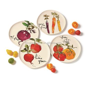 christmas design appetizer cake ceramic plate