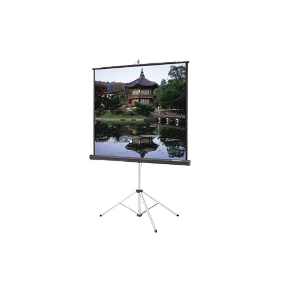 "BESTChoiceForYou Picture King Portable and Tripod Projection Screen 60 X 60 Matte White, Carpeted Picture King Matte White Portable Projection Screen Viewing Area: 60"" H x 60"" W"