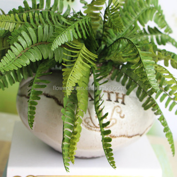 Plastic Plant Decor Fern Looks Real Artificial Leaves In Chennai Green Bulk Flower