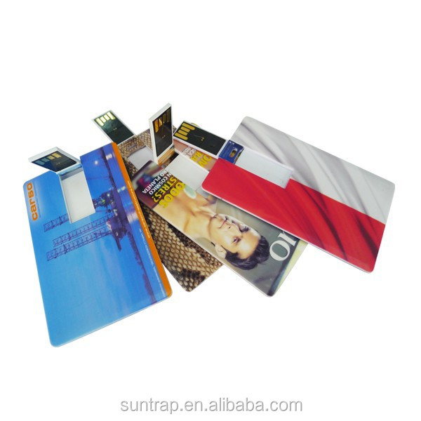 OEM Logo custom printed flash cards busines promotional usb 1gb-64gb