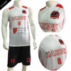 Custom Wholesale Dri Fit Eyelet Polyester Sublimation Men Basketball Uniform