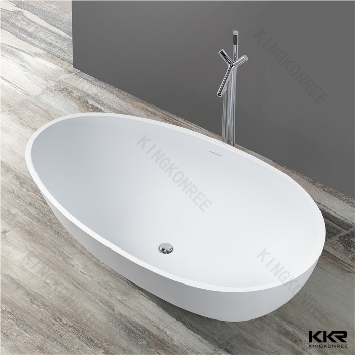 Factory Polyester Resin Zinc Bath Shallow Tub 3 Person