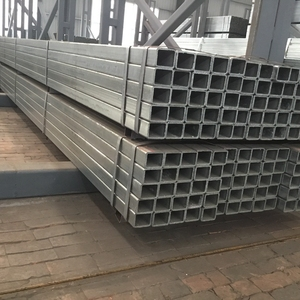 S235JR hot dipped Galvanized Welded Rectangular / Square Structural Steel Pipe/Tube/Hollow Section/SHS / RHS From Youfa