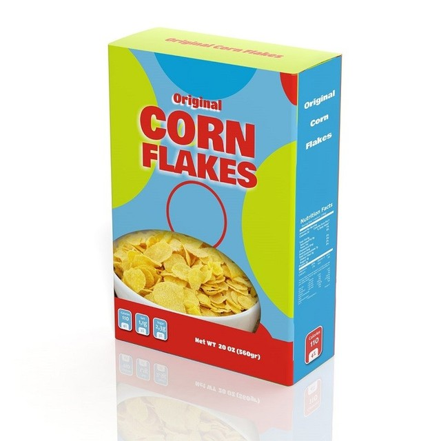 Free sample custom design offset printing cereal box