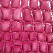 PU Synthetic Leather Fabric With Brightness (Zapatos)