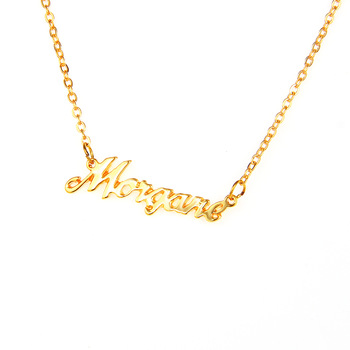 Custom Text Necklace Laser Cut Jewellery Designs Name Necklaces