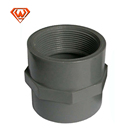 plastic pipe fitting upvc/pvc-u/pvc union threaded