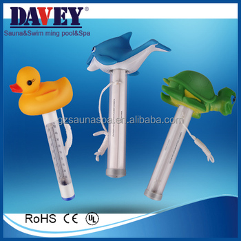 Davey Swimming Pools Hot Use Floating Animal Shaped Pool Thermometer - Buy  Pool Thermometer,Floating Animal Shaped Thermometer,Shaped Thermometer ...