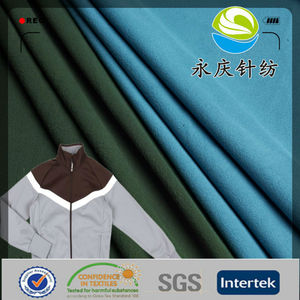 100% polyester track suits super poly fabric for sportswear