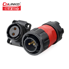 Made in china CNLINKO waterproof Truck Electrical Connector 2 pin dc power connector male and crimp connector pin