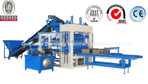 QT4-15health medical equipment price list of concrete block making machine