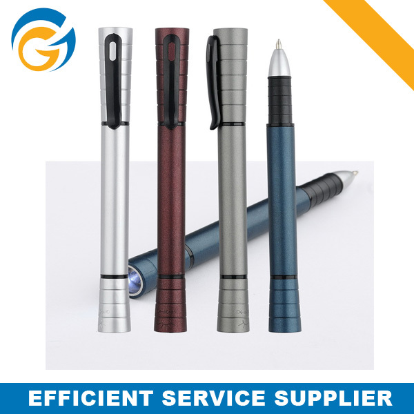 Yiwu Fast Supplier Ball Pen with Led Light for Staff