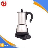 Stainless steel material espresso coffee machines