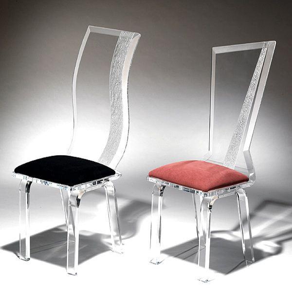 Diseño personalizado transparente silla de comedor, shenzhen silla ...