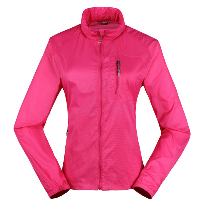 Outdoor Women trench ultra-thin ultra-light sun protection clothing air conditioning clothing anti-uv fast drying clothing