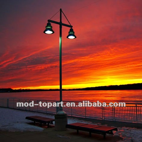 2012 Pop led light for fabric painting designs in Sunset glow of the street lamp
