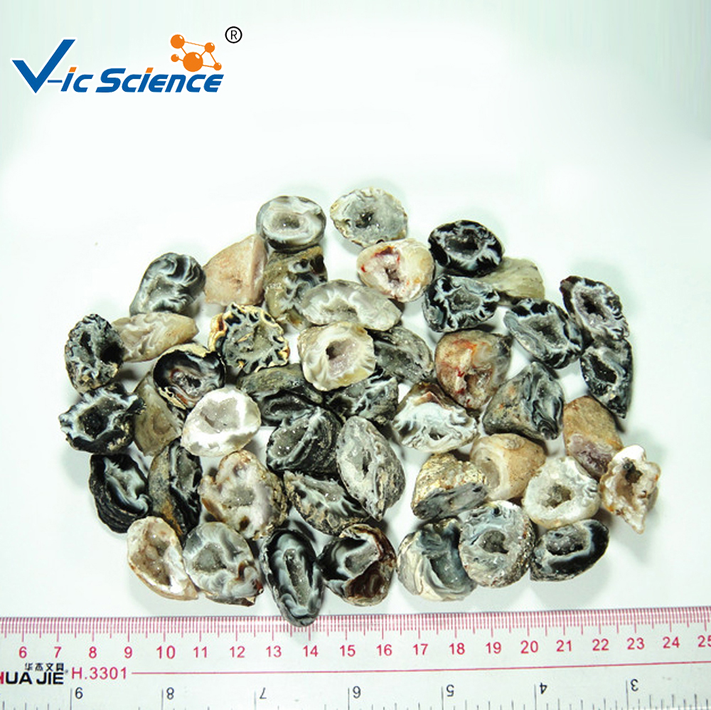 Small agate geode natural agate geode agate geode imported raw materials