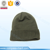 Plain Blank Solid Color Acrylic Rib Knit Watch Cap
