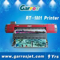Europe quality orginal digital eco solvent printer dx7 1440dpi for flex vinyl PP printing