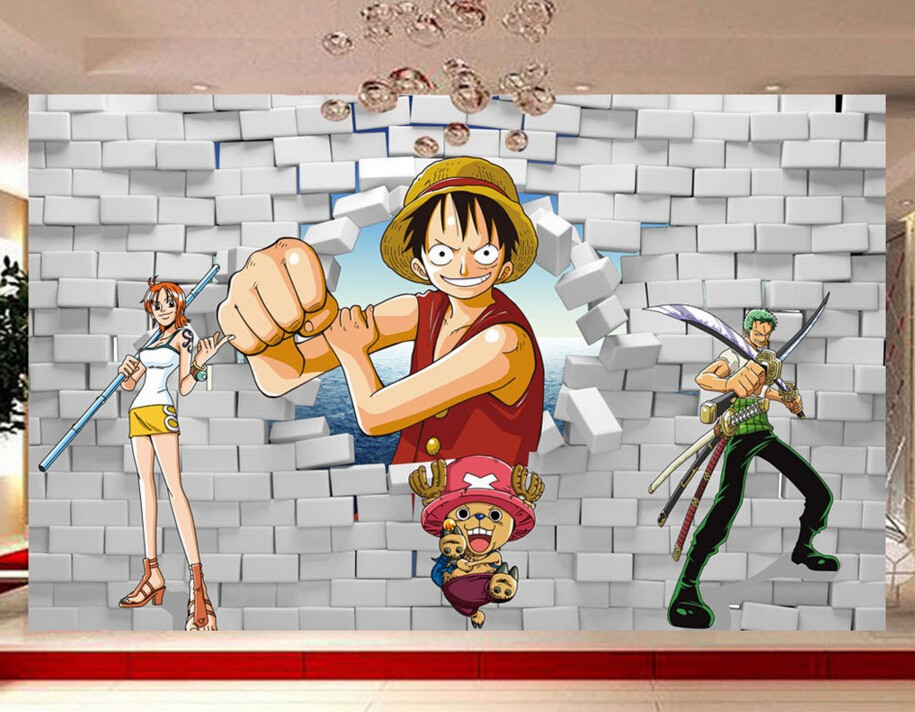Kustom Anak Wallpaper One Piece Luffy Poqiang 3d Kartun Mural Untuk Anak Room Bedroom Latar Belakang Papel De Parede Wallpaper Mural Wallpaper Girlwallpaper Abstract Aliexpress