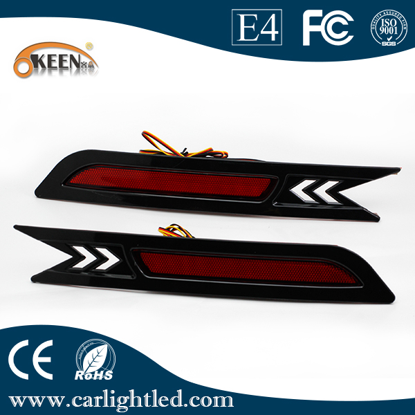 Waterproof 5W Super Bright Rear Bumper Light For H onda CRV 2010 Signal Lamp