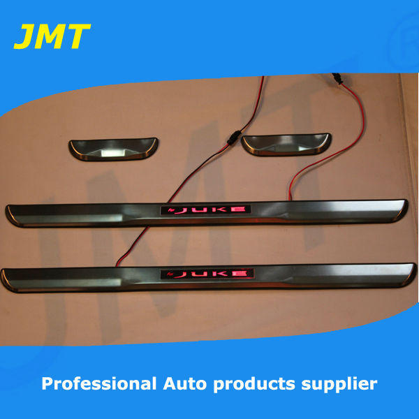 Classical Stylel!LED door sill plate for Nissan Juke