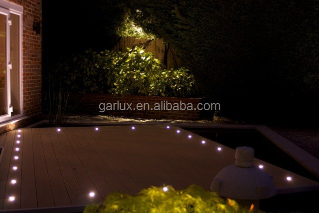 Waterproof Led Deck Lights For Indoor And Outdoor Small Led Stair Step  Lighting