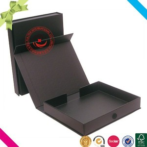 2017 Top sale plain paper cardboard storage fire portfolio box