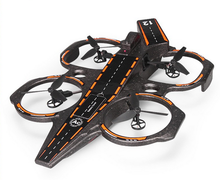 Q202 4 Channel 6 Axis Gyro 3 in 1 2.4GHz Aircraft Carrier Shape air land water Amphibious FPV RC Quadcopter