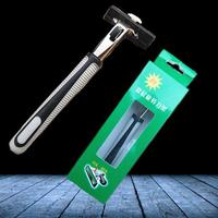 Double Safety Razor 6 Blades Shave Shaver Butterfly Safe Excellent Stainless Steel High quality