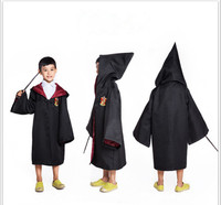 bulk wholesale cheap price halloween decorations party harry potter cloak costumes for kids
