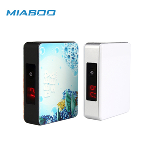 Smallest LED Light Power Bank Rechargeable Power Bank Customised Logo Power Bank