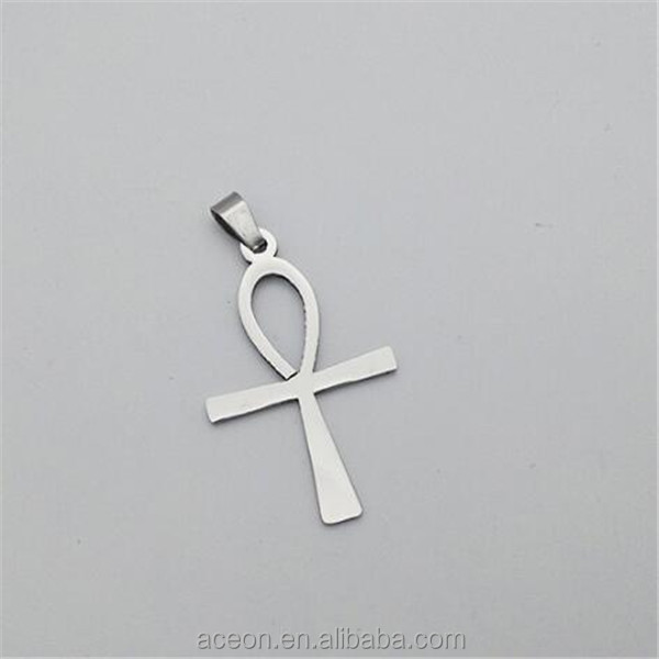 Yiwu Aceon Stainless Steel Cheap Promotional Jewelry Chinese knot Cross Pendant