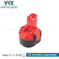 9.6V 2Ah Economic NI-MH Power Tool Battery for Bosch
