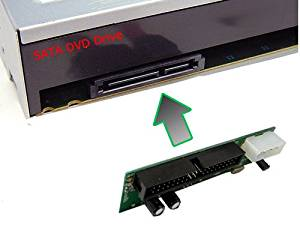 SATA to IDE/PATA Converter Adapter (Covert SATA DVD Burner to IDE Interface Motherboard)