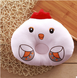 Baby pillow newborn baby pure cotton animal model pillow child protection head chicken cotton core set pillow.