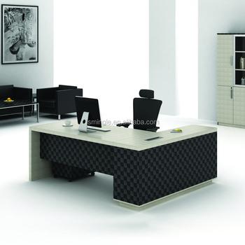 Modern Office Furniture L Shaped Melamine Wooden Manager Executive Office  Desk   Buy L Shaped Office Table,L Shape Executive Office Table,Manager ...
