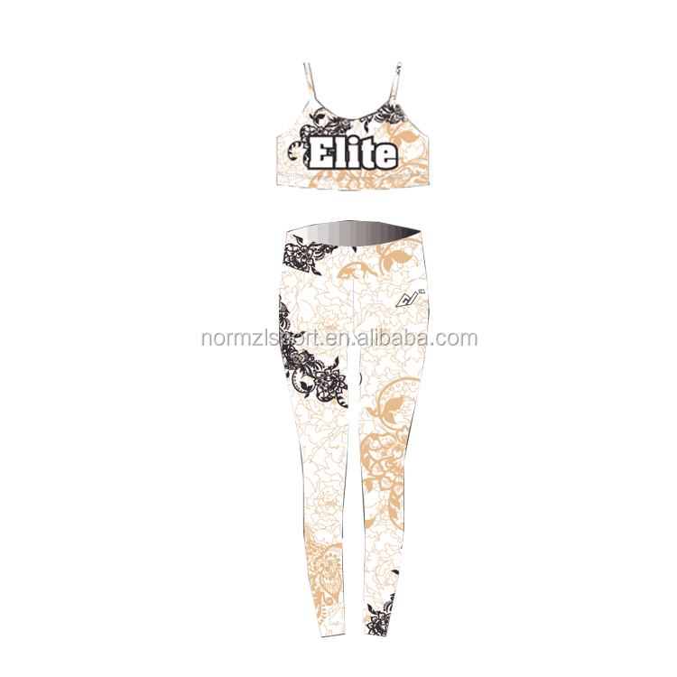 fitness oem service women gym wear active yoga leggings with custom logo