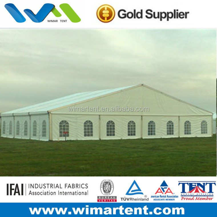Big clear span 20m White Aluminum frame outdoor event tents
