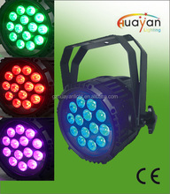 Holidays light night club light 18*10W RGBW 4in1 LED LED waterproof par light