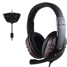 Hot Sale Gamer Over-ear Game Gaming Headphone Headset Earphone Headband with Mic Stereo Bass for xbox 360