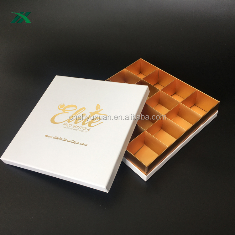 new style brownie packaging box with divide