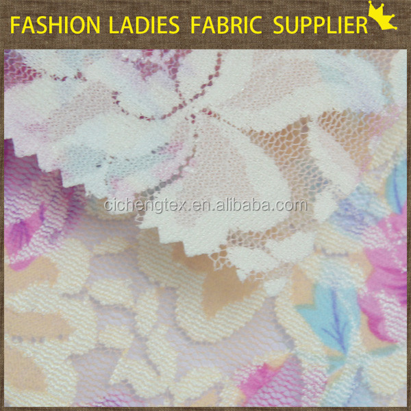 J shaoxing cicheng high quality leopard lace fabric african organza lace fabric